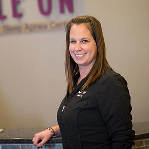 Dental assistant Cheryl