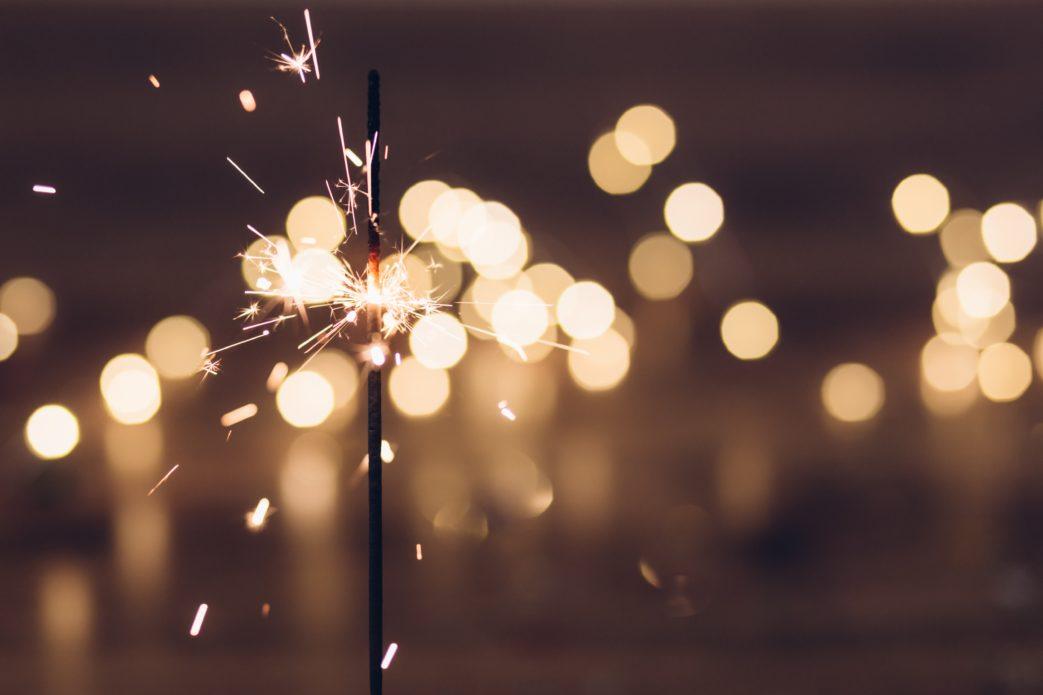 Photo: sparklers