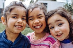 Photo: smiling kids